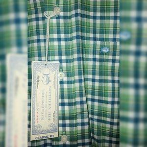 Southern Tide Long Sleeve Button Shirt Sizes L, M